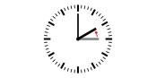 Die Uhr eine Stunde ZURÜCK stellen, alles klar? Reculer d'une heure, OK ? Foto: Daniel FR / Wikimedia Commons / PD