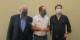 Jacques Zucker, Yannick Garzennec et Jean-Marc Mura continueront à se battre... Foto: Caroline Ravizza / CC-BY-SA 4.0int