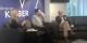 Pierre Kretz (à dr.) et Yannick Lefrançois (m.) lors de la présentation à la Librairie Kléber. Foto: Eurojournalist(e)