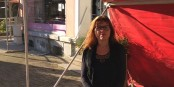 Véronique Weingarten a entamé une grève de la faim pour protester contre une situation intenable pour les commerces de proximité. Foto: privée