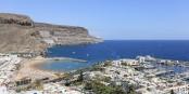 Le port de Mogán, à Gran Canaria, où débarquent les réfugiés partis d'Afrique de l'Ouest. Foto: Martin Falbinsoner / Wikimedia Commons / CC-BY-SA 4.0int