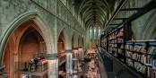 """Sind Buchhandlungen """"essentiell""""? Ja, wie hier in Maastricht als Tempel des Wissens und der Erleuchtung... Foto: Bettina Miera / Wikimedia Commons / CC-BY-SA 4.0int"""