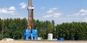 Geothermie-Bohrungen (wie hier in Bayern) sind teuer und nicht immer völlig sicher - siehe Staufen. Foto: Richard bartz / Wikimedia Commons / CC-BY-SA 2.5