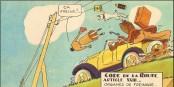 Le respect du Code de la Route relève du sens des responsabilités et non du conformisme. Foto:  J.J. Roussau 1930 / Propre Travail / Wikimedia Commons / PD Mark