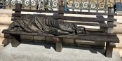 « Jesús desamparado », sculpture de Timothy Schmalz, installée en 2016 près de la Cathédrale de la Almudena à Madrid. Foto: Riozujar / Wikimedia Commons / CC-BY-SA 4.0int