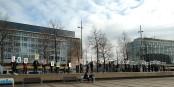 """""""Leipzig denkt selbst. Leipzig braucht keine Querdenker"""" - gilt in leipzig und überall... Foto: Roy Zuo / Wikimedia Commons / CC-BY-SA 4.0int"""