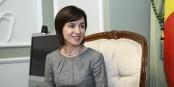 Maja Sandu, die neue Präsidentin der Republik Moldau - wie gross ist ihr Handlungsspielraum? Foto: https://www.kmu.gov.ua / Wikimedia Commons / CC-BY-SA 4.0int