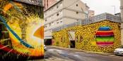 Street art à Marvila, quartier de Lisbonne où Natan Jaquemin a installé les locaux de Nãm. Foto:  Wojtek Scibor / Wikimedia Commons / CC-BY 2.0
