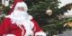 Père Noël dans la cour de l'ISEG