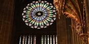 Glasfenster im Straßburger Münster - so etwas wie das 8. Weltwunder... Foto: Stefan Böhm / CC-BY-SA 4.0int