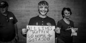 And yes - All lives matter! Foto: Johnny Silvercloud / Wikimedia Commons / CC-BY-SA 2.0