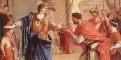 Cornelia (189-100 av JC), fille de Scipion l'Africain et mère des Gracques dont elle s'occupa sans nourrice, refusa après son veuvage d'épouser Ptolémée VI pour mieux se consacrer à l'éducation de ses propres enfants. Foto:  Web Gallery of Art / Wikimedia Commons / PD