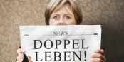 """Si Angela Merkel avait réellement une """"double vie"""", les Allemands la verraient bien rempiler pour un nième mandat... Foto: DWolfsperger / Wikimedia Commons / CC-BY-SA 3.0de"""