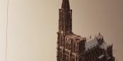 So weit war um 1439 herum der Bau des Münsters fortgeschritten... Foto: Stefan Böhm
