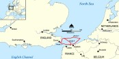 Les routiers empruntant le ferry entre Douvres et Calais devront désormais finir leurs sandwichs avant d'arriver dans l'UE... Foto: NormanEinstein / Wikimedia Commons / CC-BY-SA 3.0