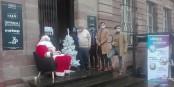 Da ist der Beweis - es gibt ihn, den Weihnachtsmann! Foto: Eurojournalist(e)
