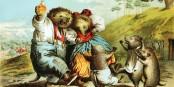 Die Igel frohlocken der gehetzte Hase liegt darnieder aber nicht mit uns Illustration aus dem 19. Jahrhundert. Foto: PD