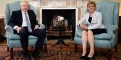Boris Johnson et Nicola Sturgeon se livreront à un bras-de-fer sur la cohésion du Royaume Uni. Foto: 10 Downing Street / Wikimedia Commons / OGL V3