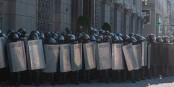 Die belarussische Polizei soll autorisiert werden, Demonstranten zu erschiessen... Foto: Homoatrox / Wikimedia Commons / CC-BY-SA 3.0