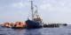 """Sea-Watch rettet Menschenleben und wird kriminalisiert, """"Frontex"""" duldet im Namen der EU das mörderische """"Pushback"""". Foto: Sea-Watch.org / Wikimedia Commons / CC-BY-SA 4.0int"""