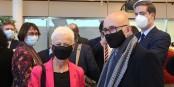 Brigitte Klinkert et Frédéric Bierry, les architectes principaux de la nouvelle CEA. Foto: Eurojournalist(e) / CC-BY-SA 4.0int