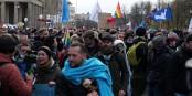 """Novembre 2020, Leipzig et Berlin. Les manifestations des """"Querdenker"""" occasionnent jusqu'à 21.000 cas d'infection. Foto: Leonhard Lenz / Wikimedia Commons / CC0 1.0"""
