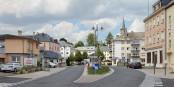 La frontière luxembourgeoise (ici à Mondorf-les-Bains) doit rester ouverte, quoi qu'il arrive. Dit le Luxembourg. Foto: Cayambe / Wikimedia Commons / CC-BY-SA 3.0