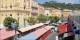 Der wunderschöne Blumenmarkt auf dem Cours Saleya in Nizza - heute ein Hopspot erster Kategorie. Foto: dalbera / Wikimedia Commons / CC-BY 2.0