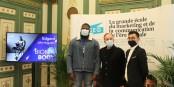 """Trois qui font preuve d'une attitude exemplaire - """"Bionic Body"""" Edgard John-Augustin, Eric Hamel et Adrien Ruffier. Foto: Eurojournalist(e) / CC-BY-SA 4.0int"""
