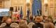 2018 rappten die Neumann-Zwillinge bei der Verleihung des Adenauer-de Gaulle-Preise an sie für mehr Mehrsprachigkeit... Foto: Stefanie Ringshofer / Zweierpasch