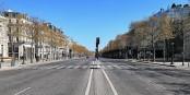 So wie im April 2020 sollte ein Lockdown auf den Champs-Elysée aussehen. Dieses Mal wird das deutlich belebter werden... Foto: ERIC SALARD from Paris, FRANCE / Wikimedia Commons / CC-BY-SA 2.0