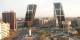 Vue panoramique du Paseo de la Castellana, de la Plaza de Castilla et des tours de la Puerta de Europa. Foto: Quique Huertas / Wikimedia Commons / PD