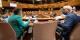 Jeanne Barseghian und Toni vetrano verstehen sich gut. Aber ob das ausreicht, das Chaos an der Grenze besser zu organisieren? Foto: @ Jerome Dorkel pour la Ville et Eurométropole de Strasbourg