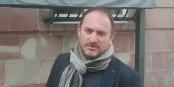 """Yannick Garzennec, patron du """"Muensterstuewel"""" et d'autres restaurants à Strasbourg, ne se laisse pas abattre. Foto: Eurojournalist(e)"""