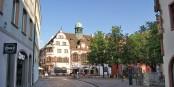 Les commerçants du centre-ville de Freiburg sont activement soutenus par leur mairie. Foto: Asurnipal / Wikimedia Commons / CC-BY-SA 4.0int