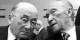 Jean Monnet et Konrad Adenauer. Foto: © Ferdi Hartung