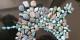 Collage en « azur de Neichapour » réalisé par Fariba Adelkha pour Norouz 1440. Fariba nous souhaite un bon printemps – Norouz comme on dit en Iran. Foto: Fariba Adelkhah & Roland Marchal Support Committee  (hypotheses.org)