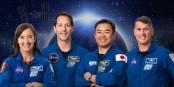 Voici la photo officielle de l'équipage du Crew Dragon 2. Foto : NASA / Cindy Bush / Wikimédia Commons / PD-NASA