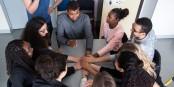 Tutorat d'un programme pour l'égalité des chances de l'Ecole Polytechnique. Foto: Ecole Polytechnique / CC-BY-SA 2.0