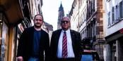 Yannick Garzennec et Jacques Zucker - une attitude de sportifs face à la crise et le 3e confinement. Foto: Marine Dumény / CC-BY-SA 4.0int