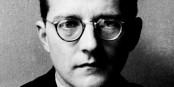 Dimitri Schostakowitsch komponierte zum Weltkriegsende seine Neunte - mit ihrer Freude über den Frieden erzürnte er die Mächtigen und die sich dafür hielten. Foto: Unbekannter Autor / Wikimedia Commons / PD