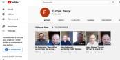 """Die ersten drei Video-Interviews sind bereits auf dem neuen YouTube-Kanal """"Europe - davay!"""". Foto: ScS EuTalk"""