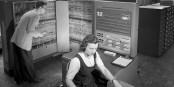 """Pendant les années 50, personne ne croyait qu'""""ordinateur"""" puisse rimer avec """"jeux-vidéo""""... Foto: NASA / Wikimedia Commons / PD"""