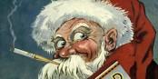 Wenn ihr dem Weihnachtsmann das Rauchen verbietet, dann kommt er eben künftig nicht mehr... Foto: Unknown artist / Wikimedia Commons / PD