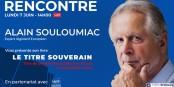 « La bataille de la propriété intellectuelle fait rage. La survie de nos startups se joue chaque jour »  Alain Souloumiac Foto: Agence L'Offre Strasbourg