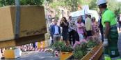 En juillet 2019, le maire de Madrid José Luís Martínez-Almeida (PP), et la vice-maire Begoña Villacís Sánchez (Ciudadanos), étaient tout heureux de réduire l'espace piétonnier de la rue Galileo, au profit des automobilistes... Foto:  Diario de Madrid / Wikimedia Commons / CC-BY 4.0