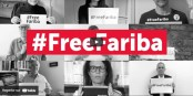 Visible sur le site du comité de soutien, la vidéo fait défiler les photos d'une partie de celle et ceux qui se mobilisent pour Fariba Adelkhah. Foto: ScS du site du comité de soutien
