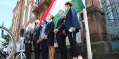 Man hat, ehrlich gesagt, schon würdigere Zeremonien erlebt... Foto: Eurojournalist(e) / CC-BY 2.0