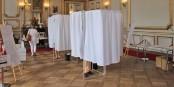 Vor den Wahlkabinen musste am Sonntag niemand Schlange stehen... Foto: Eurojournalist(e) / CC-BY-SA 4.0int