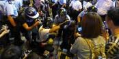 Les journalistes font de plus en plus souvent l'objet des attaques de la part de la police. Et ce, pas seulement à Hong Kong... Foto: Wing1990hk / Wikimedia Commons / CC-BY-SA 3.0
